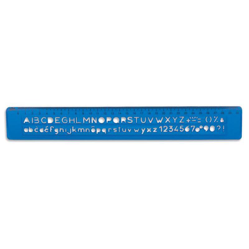 Sablon 30 cm pentru litere si cifre drepte 8508