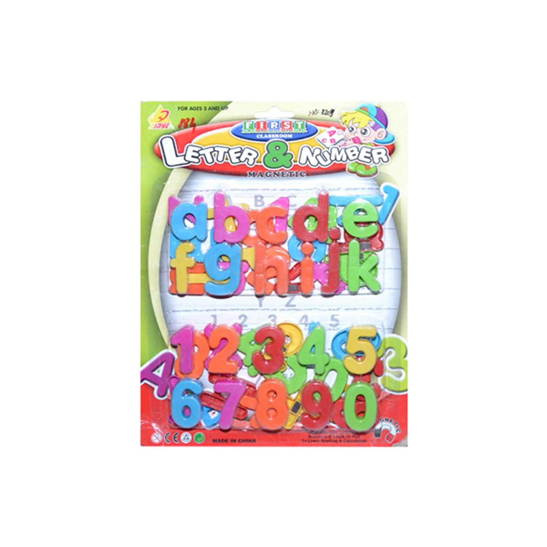 Set litere + cifre magnetice mici pe placa R880
