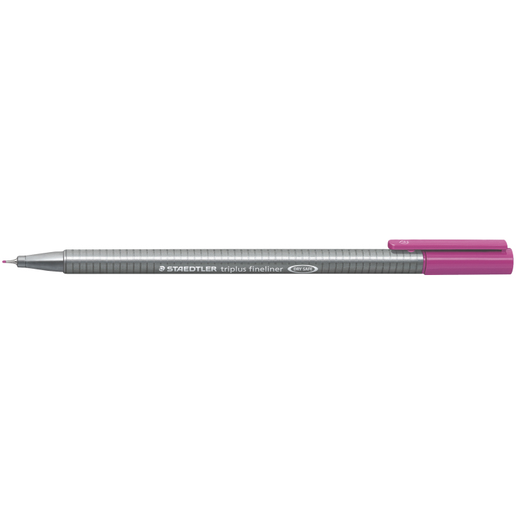 Fineliner Staedtler Triplus 0.3mm mov inchis ST-334-61