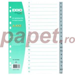 Index plastic Exxo A-Z E6753