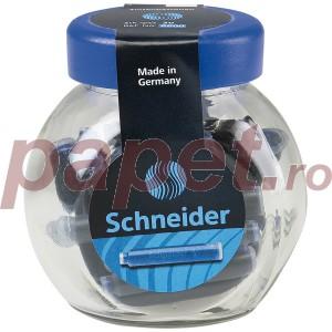 Patroane stilou Schneider 30 / borcan albastre 284603