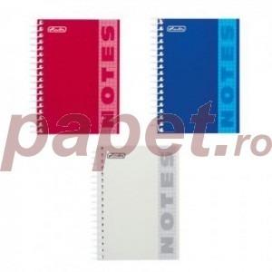 Bloc notes A6 spira dubla 200 file Herlitz 029863/8