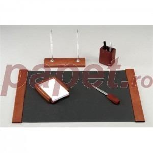 Set birou lemn arin 5 piese 5090DDV S863