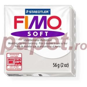 Lut polimeric Fimo Soft pentru modelaj 8020-Dolphin grey