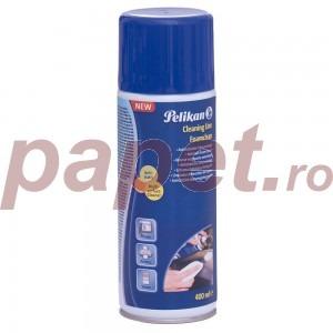 Spray cu spuma de curatare, pentru sticla, plastic si metal, fara alcool, 400ml 407130