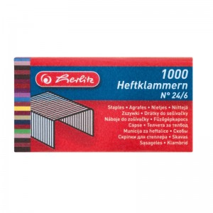 Capse 24/6 mm Herlitz 8760514