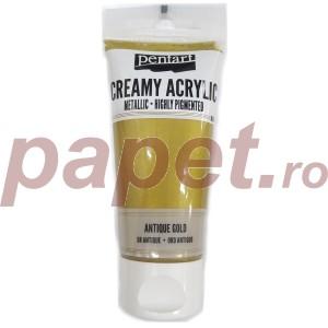 Acrylic color creamy metallic 60ML Antique Gold P28002