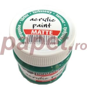 Culoare acrilica mata 50ML Turqoise P1901/4