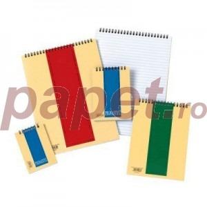 Bloc notes cu spira dubla A5-40file E2050
