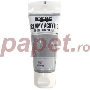 Acrylic color creamy semi-gloss 60ML Gray P27955
