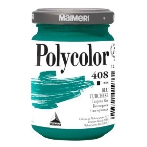 Culoare acrilica Maimeri polycolor 140 ml turquoise blue 1220408