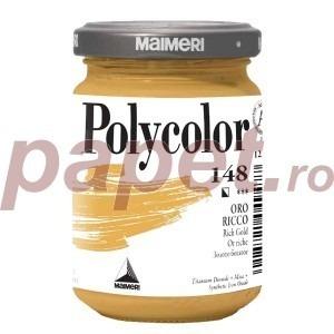 Culoare acrilica Maimeri polycolor 140 ml rich gold 1220148