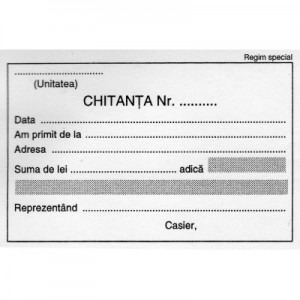 Chitantier mic ( 2exemplare) 1384