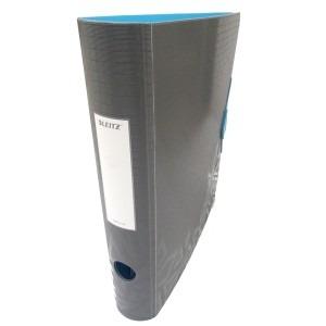 Biblioraft Leitz 65MM gri/albastru deschis L11170089