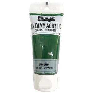 Acrylic color creamy semi-gloss 60ML Dark Green P27934