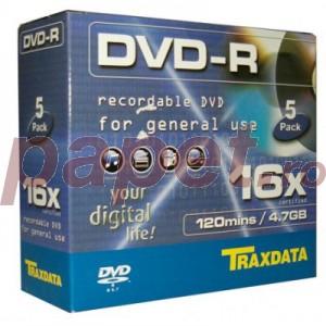 DVD-R Traxdata 16X carcasa E659