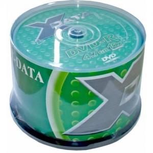 DVD-R X-data 16X 4.7GB 50 bucati / box 4605