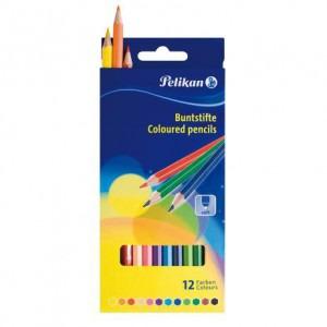 Creioane color Pelikan 12 culori / set E713214