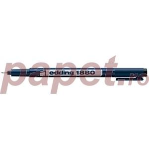 Fineliner Edding 1880 0.8MM negru ED188081