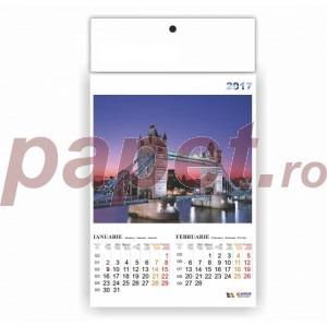 Calendar 2017 policromie A3 cu orase 4089