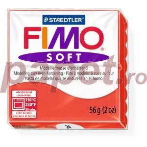 Lut polimeric Fimo Soft pentru modelaj 8020-Indian red