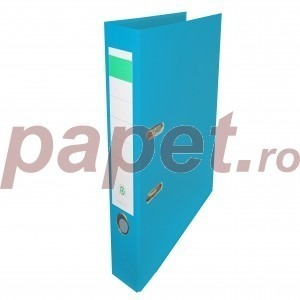 Biblioraft plastifiat Papet 5cm bleu E5106