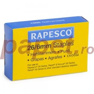 Capse 26/6 mm Rapesco RP-S11661Z3