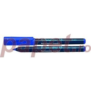 Marker permanent Schneider 1-2MM 240 albastru S240A
