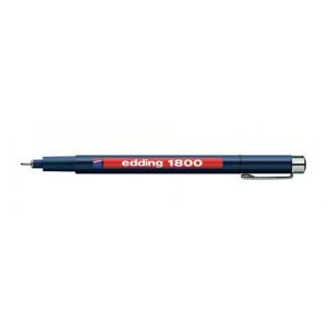 Fineliner Edding 1800 varf 0.1mm negru ED180011