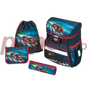 Ghiozdan echipat Herlitz Loop Plus Super Racer 50007943