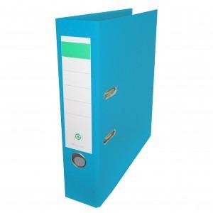 Biblioraft plastifiat Papet 8cm bleu E564017