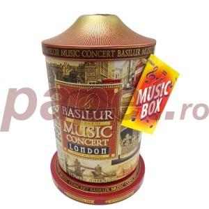 Ceai Basilur music box concert london C70454