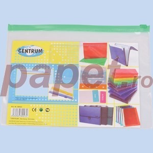 Plic plastic cu fermoar A5 Centrum 80023