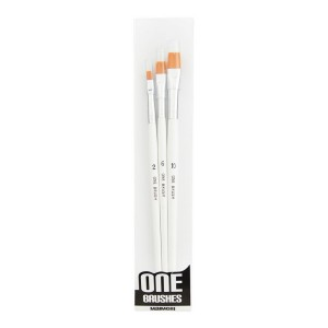 "Pensule late Maimeri ""One Brushes"" 3/set NR.2/6/10 6598103"