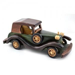Masina decorativa de epoca lin lemn M278