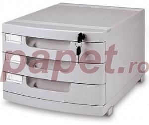 Caseta documente MAS 3 sertare E1403M