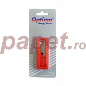 Rezerva cutter Optima trapezoidala SK5 10bucati/blister OP385000105
