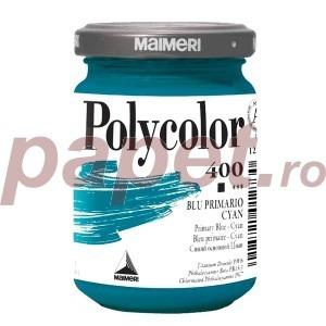 Culoare acrilica Maimeri polycolor 140 ml primary blue cyan 1220400