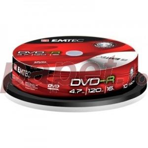 DVD-R EMTEC 4.7GB 16X 10/box EMT20000