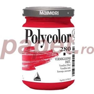 Culoare acrilica Maimeri polycolor 140 ml vermilion (hue) 1220280