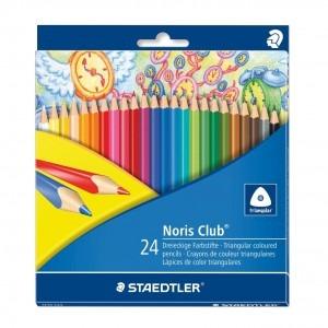 Creion color Staedtler triplus Noris Club 24 bucati / set ST-1270-C24