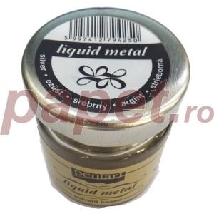Foita lichida - metal lichid Silver 30ML P21080
