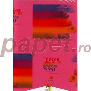 Hartie Color Plus A4 160g/mp roz fucsia 4431