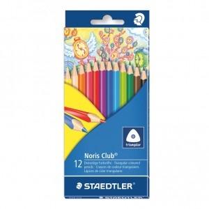 Creion color Staedtler triplus Noris Club 12 bucati / set ST-1270-C12