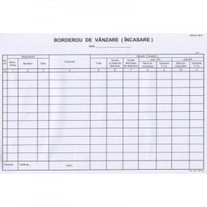 Borderou vanzare-incasare (copertat) 563