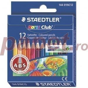 Creioane colorate 1/2 lungime 12 culori / set Staedtler ST14401NC12