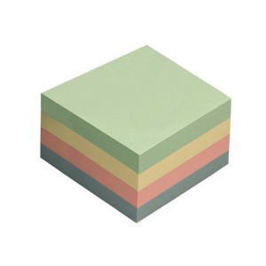 Notes adeziv 76x76 4 culori pastel 400file sky 11125000