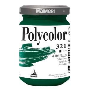 Culoare acrilica Maimeri polycolor 140 ml phthalo green 1220321