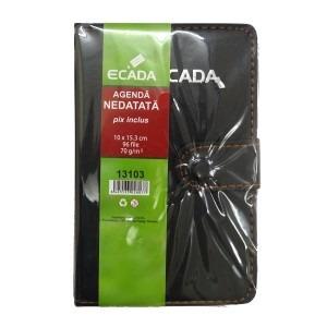 Agenda Ecada cu pix 10 x 15 cm 13103
