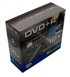 DVD+R Traxdata 16X carcasa E658